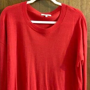 Madewell merino wool tunic